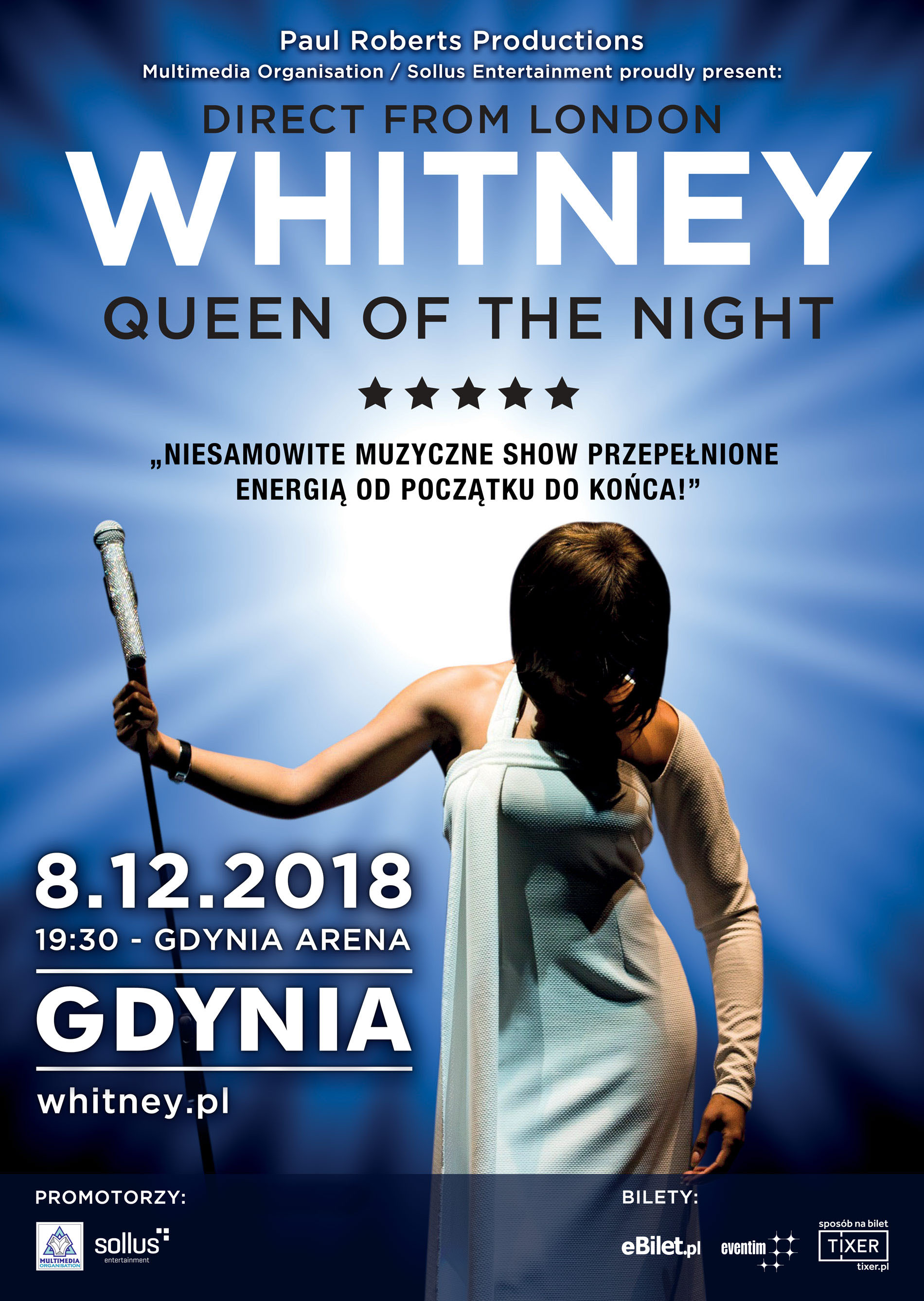 """Whitney — Queen of the Night"""