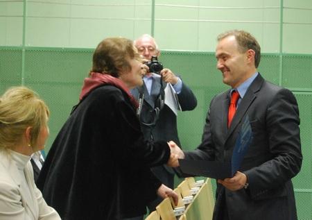 Nagrody dla pracowników Służby Zdrowia, fot.: Dorota Nelke