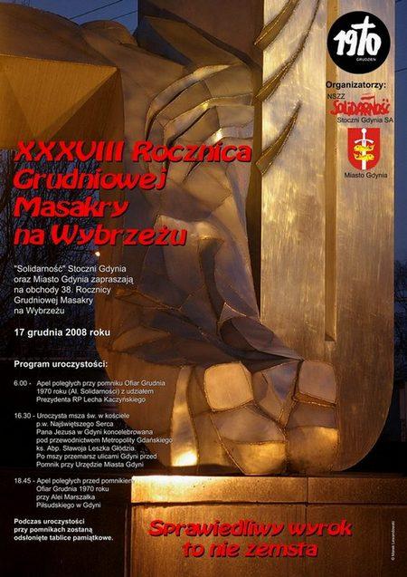 plakat Grudzień 70