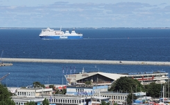 Finnlines ferry departing from Gdynia, photo by Andrzej Goje