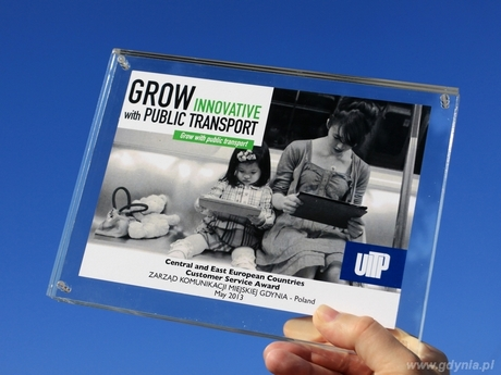 Nagroda Międzynarodowej Unii Transportu Publicznego, fot. Janusz Wensierski / ZKM Gdynia