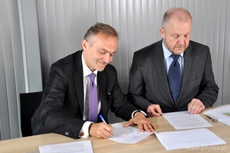 Prezydent Gdyni Wojciech Szczurek i wiceprezydent Marek Stępa, fot. Krzysztof Romański