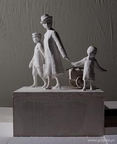 Zwycięski projekt autorstwa Biura Projektów Budownictwa Komunalnego S.A. w Gdańsku wraz z artystami rzeźbiarzami Pawłem Sasinem i Adamem Dziejowskim - materiały prasowe Urzędu Miasta Gdyni