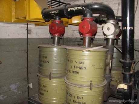 Filtropochłaniacze FP-100, oczyszczajace powietrze z pyłu radioaktywnego oraz substancji toksycznych