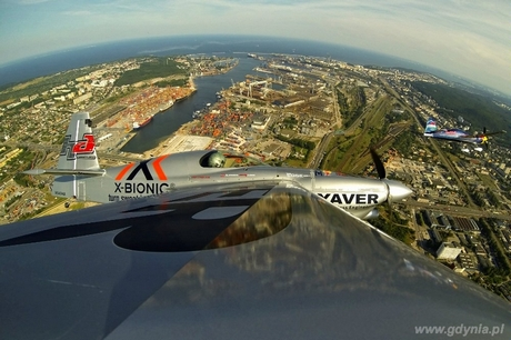 Red Bull Air Race - loty treningowe w Gdyni 24 lipca, fot. Predrag Vuckovic/Red Bull Content Pool