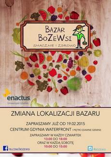 Bazar Bo Ze Wsi w nowym miejscu