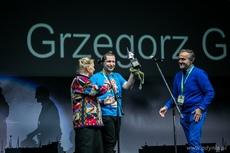 Nagroda im. Andrzeja Zawady trafiła w ręce Grzegorza Gawlika za realizację projektu 100 wulkanów, fot. Karola Stańczak