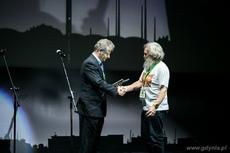 Nagroda specjalna trafiła do Aleksandra Doby za drugą, samotną podróż kajakiem przez Atlantyk, fot. Karol Stańczak