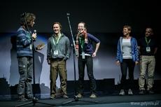 Drugie wyróżnienie w kategorii Podróże odebrali Karolina i Aleksander Klajowie za wyprawę tandemem przez Azję, fot. Karol Stańczak