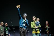 Trzecie wyróżnienie w kategorii Wyczyn Roku trafiło w recę Mateusza Waligóry za samotny przejazd rowerem ekstremalnie trudnego szlaku terenowego Canning Stock Route w Australii, fot. Karol Stańczak