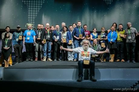 Wyróżnieni i nagrodzeni Kolosami 2014 na gali finałowej, fot. Karol Stańczak