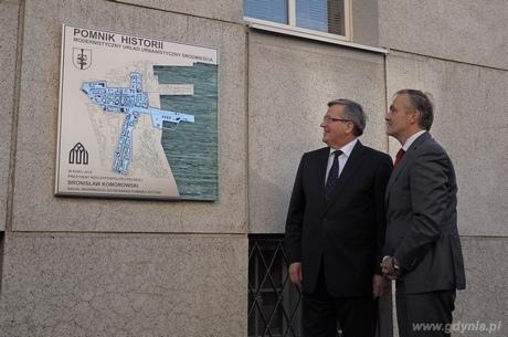 Prezydent RP Bronisław Komorowski i Prezydent Gdyni Wojciech Szczurek, fot. Dorota Nelke