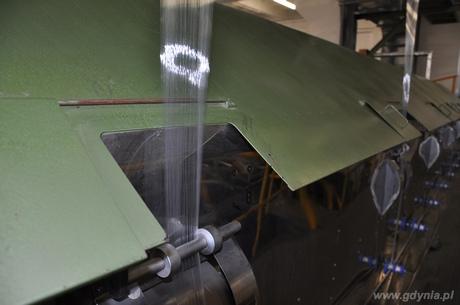 Przecięcie wstęgi w dniu otwarcia zakład recyklingu opakowań PET Elcen, fot. Sebastian Drausal