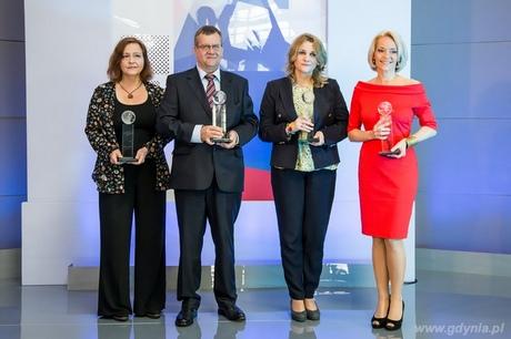 Dziennikarze, uhonorowani Nagrodami imienia Macieja Płażyńskiego, fot. Dominik Jagodziński