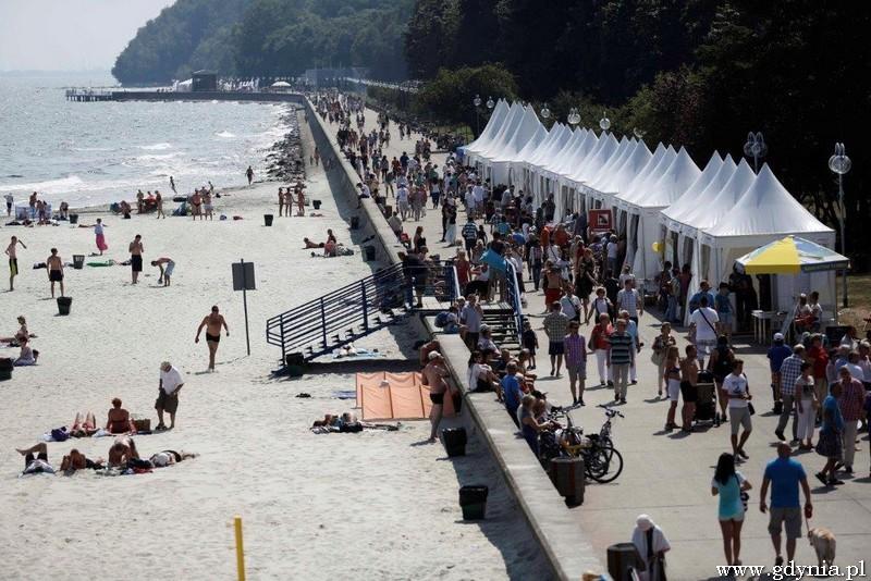 Nadmorski Plener Czytelniczy 2014 / fot. Murator EXPO