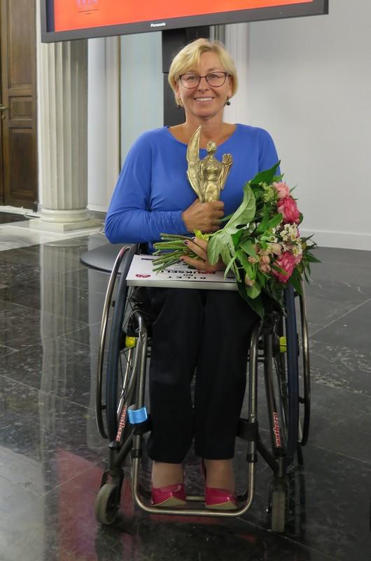 Beata Wachowiak-Zwara ogólnopolską Lady D. / fot. Agnieszka Kamińska