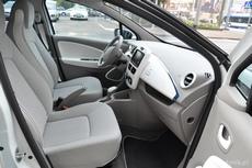 Wnętrze elektrycznego Renault ZOE, fot. Agnieszka Wołowicz