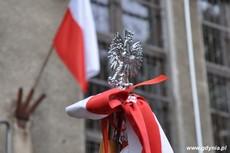 Uroczystość odsłonięcia tablicy upamiętniającej działania antykomunistyczne młodzieżowych organizacji, fot. Dorota Nelke