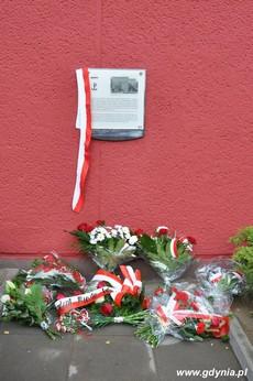 Tablica upamiętniająca działania antykomunistyczne młodzieżowych organizacji, fot. Dorota Nelke