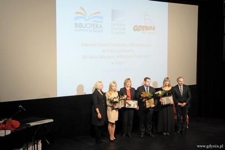 Nagrody prezydenta z okazji Gdyńskiego Dnia Czytelnika i Bibliotekarza, fot. Michał Kowalski
