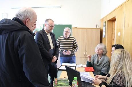 Maraton pisania wniosków do Budżetu Obywatelskiego na Oksywiu, fot. Aleksandra Dylejko