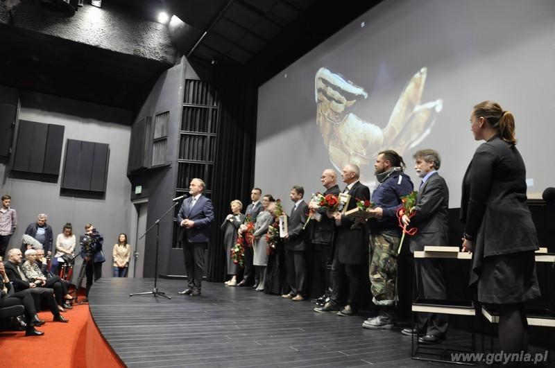 Laureaci Nagrody Artystycznej Prezydenta Gdyni Galion Gdyński 2015 / fot. Małgorzata Omachel - Kwidzińska