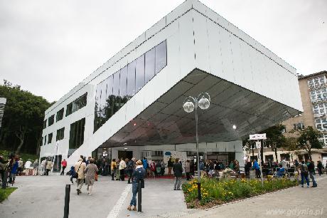 Budynek Gdyńskiego Centrum Filmowego, fot. Karol Stańczak