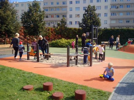 Nowy plac zabaw na ulicy �l�skiej, fot. Dorota Patzer