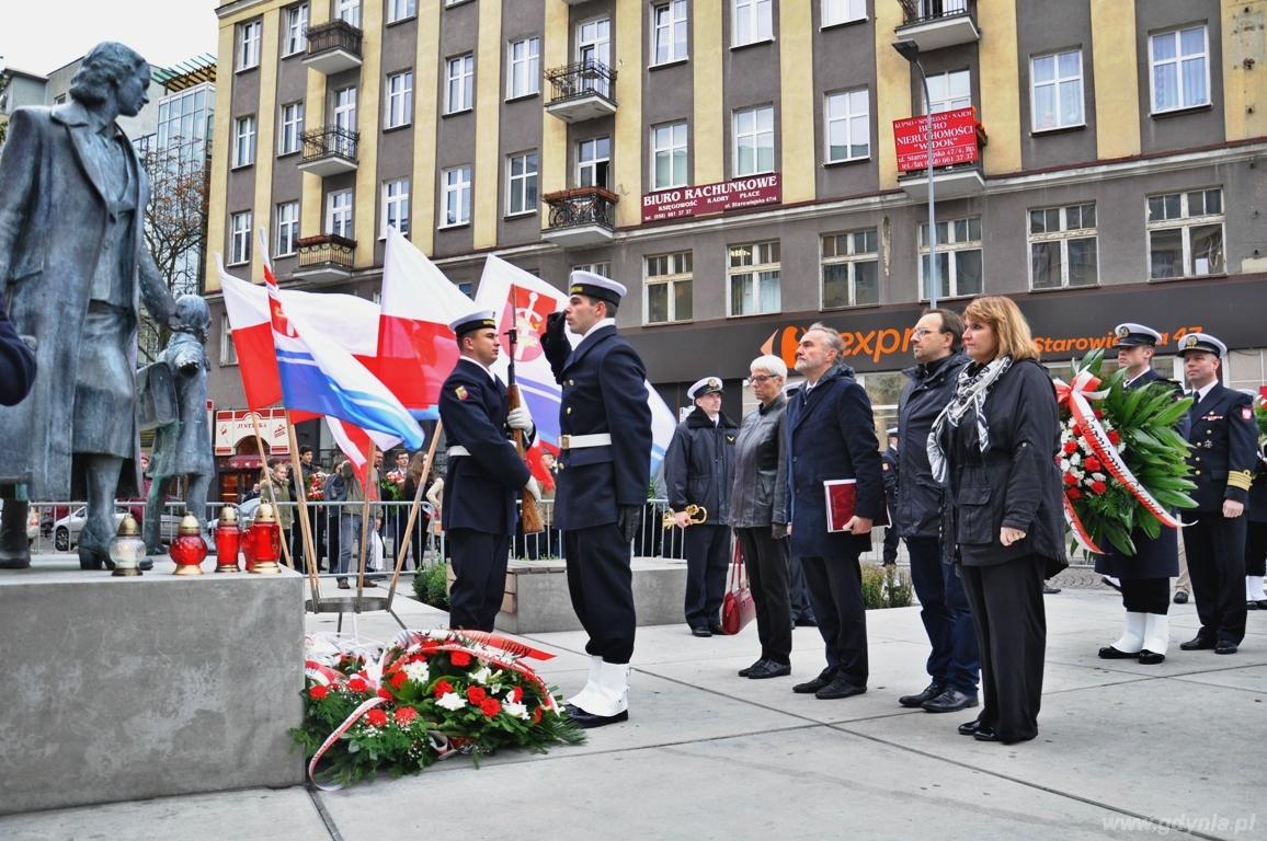 77. rocznica wysiedleń ludności cywilnej z Gdyni / fot. Barbara Betlejewska