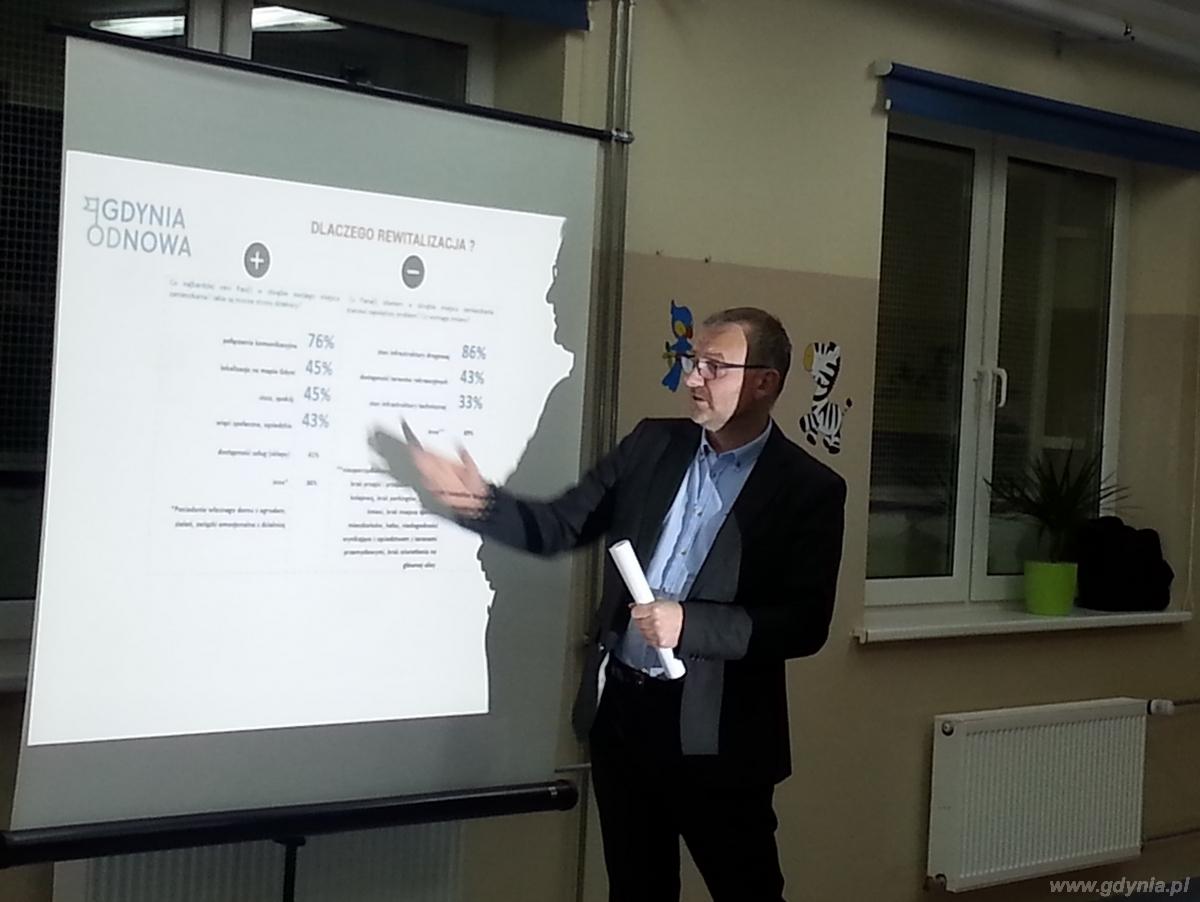 Drugie spotkanie w ramach konsultacji społecznych projektu Gminnego Programu Rewitalizacji / fot. Laboratorium Innowacji Społecznych