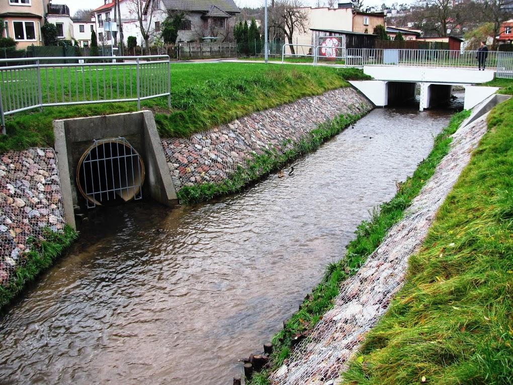 Rzeka Kacza po realizacji inwestycji, fot. mat. prasowe
