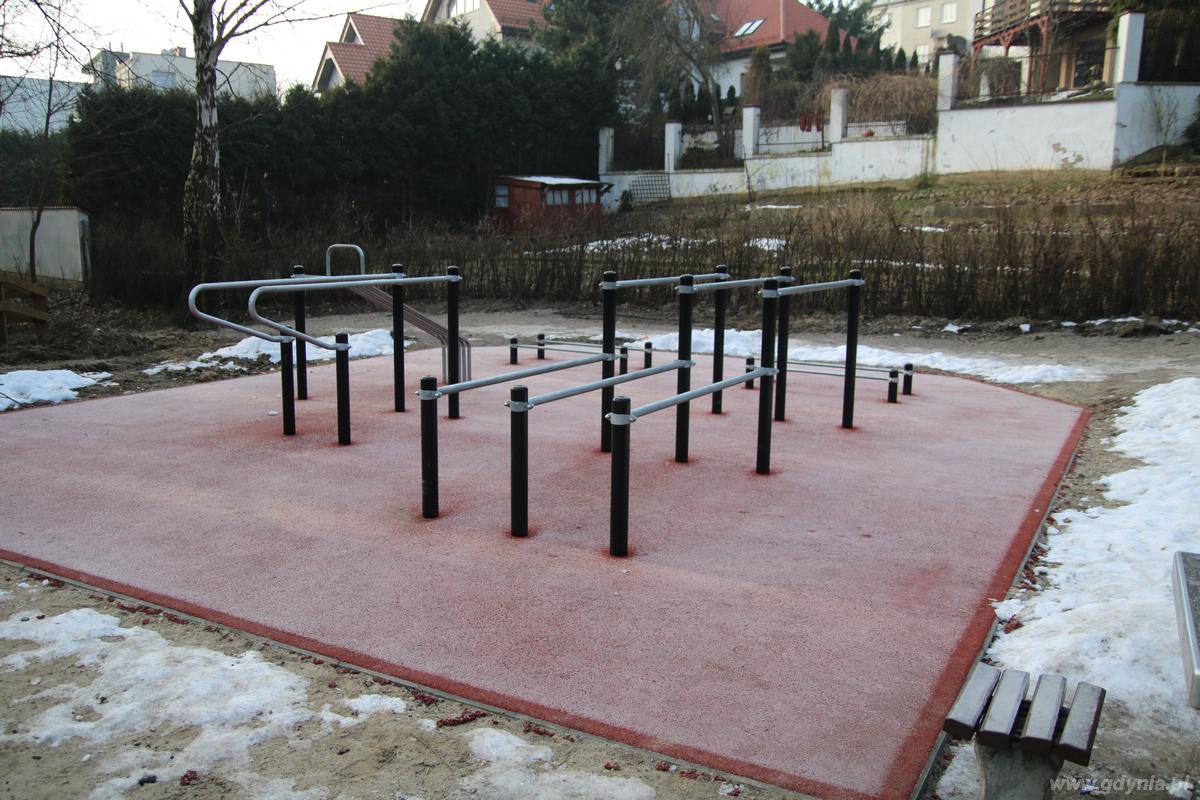 Plac Street Workout w Redłowie, fot. Laboratorium Innowacji Społecznych