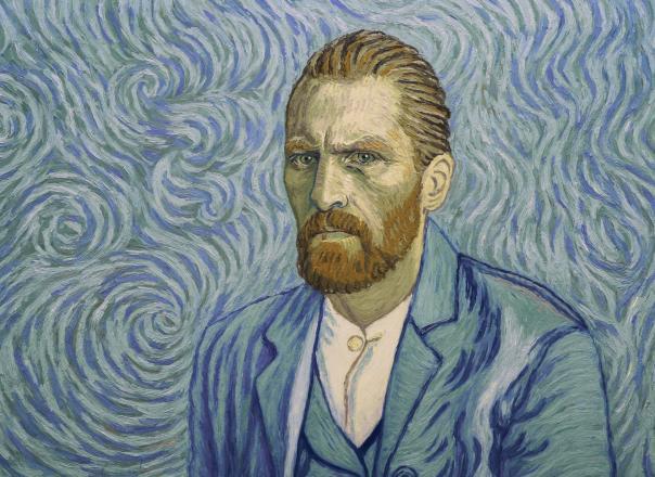 "Kadr z filmu ""Twój Vincent"""