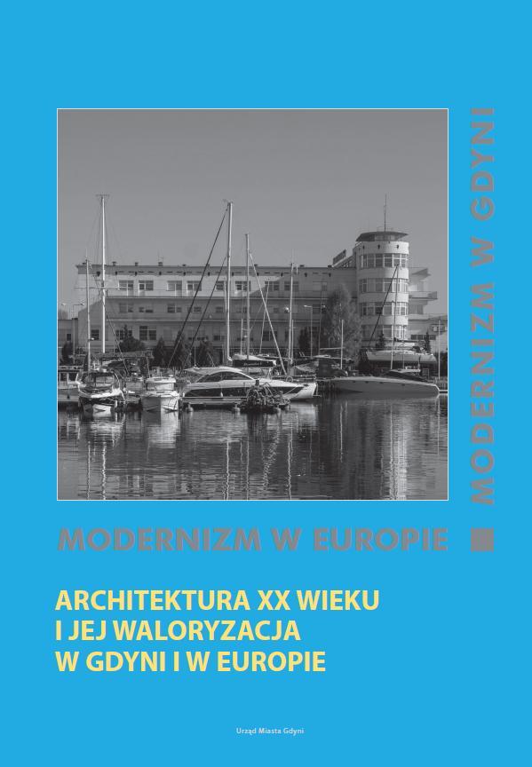 """okładka czwartego tomu """"Modernizm w Europie - modernizm w Gdyni"""""""