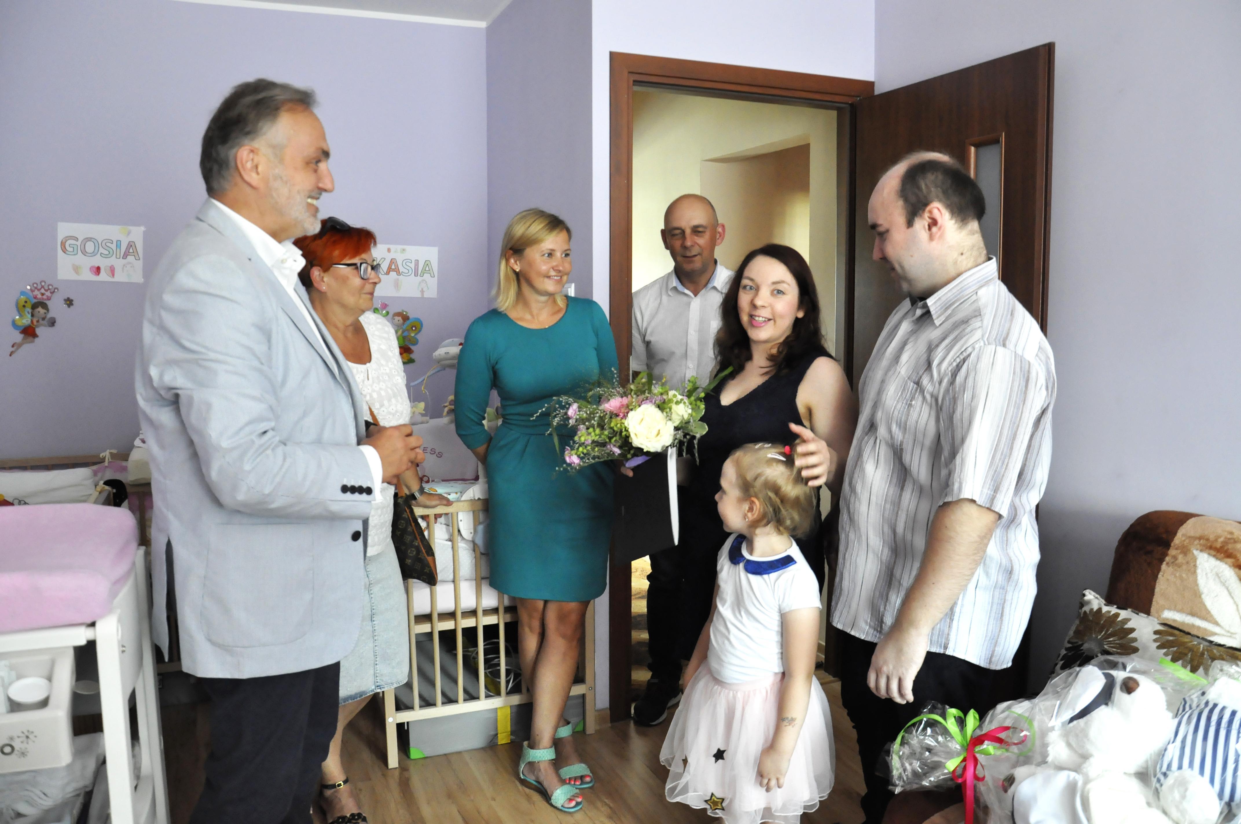 Prezydent Gdyni Wojciech Szczurek z wizytą u Państwa Kaletów