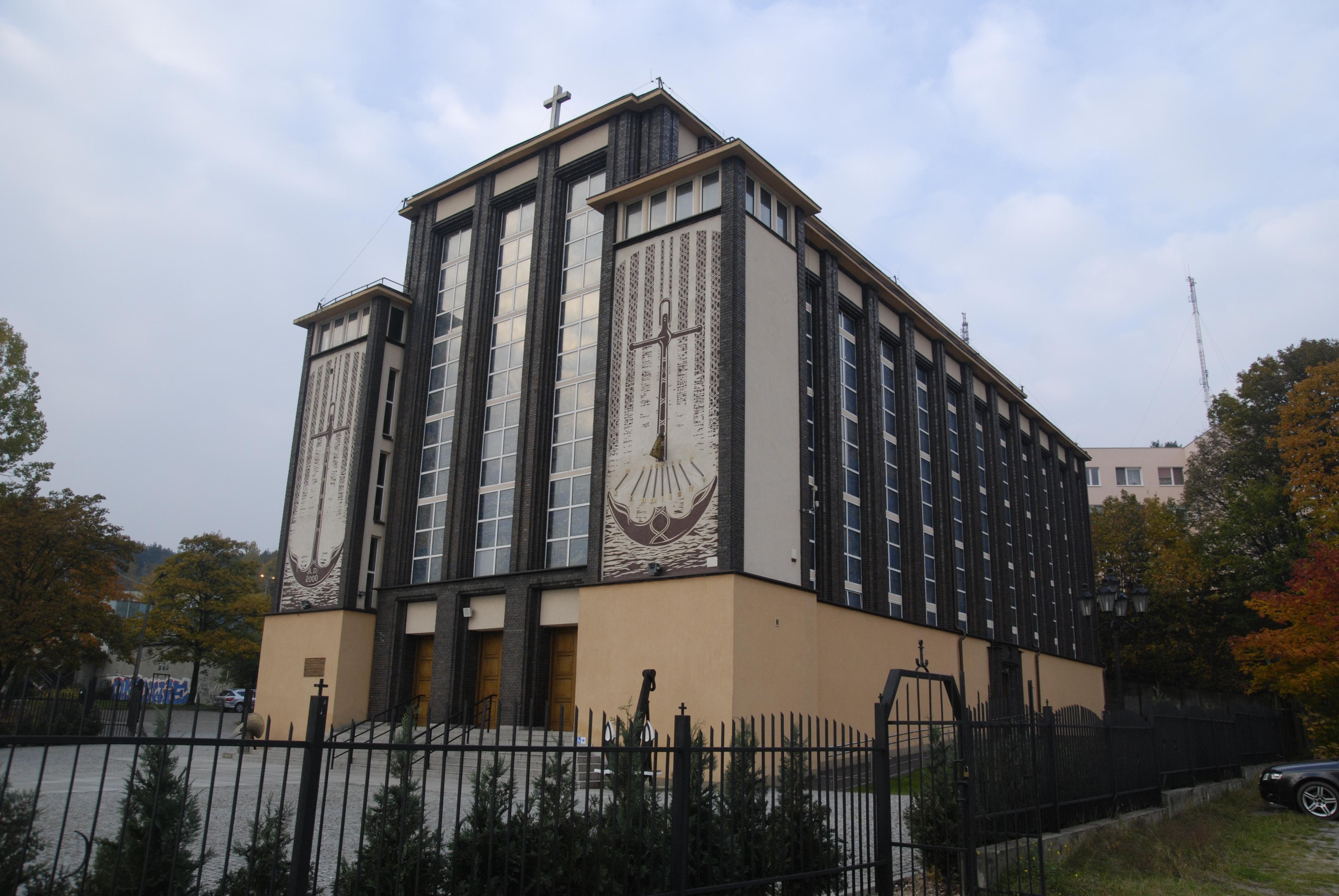 kościół garnizonowy pw. MB Częstochowskiej